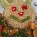 Thai Peanut Curry & Brown Rice Bear