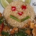 Thai Peanut Curry & Brown Rice Bear